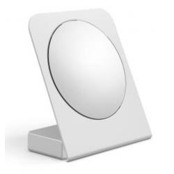 Cassøe kosmetikspejl til bord med 5xforstørrelse - Hvid