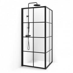 marco design hjørneløsning med dør og fastvæg
