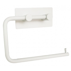Toiletrulleholder i mat hvid