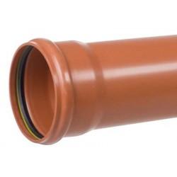 PP-kloakrør 110x3000mm SN8...