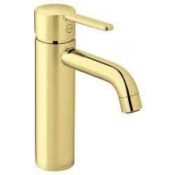 Silhouet håndvaskarmatur i medium fra Damixa i blank messing - vvs nr.: 701437785