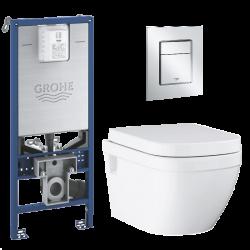 Toiletpakke m/Grohe...