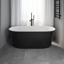 Vedbæk fritstående badekar,...