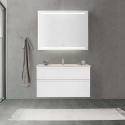 Dansani Luna møbelpakke i mathvid - 100 x 64 cm - M15-2043 + 531910003