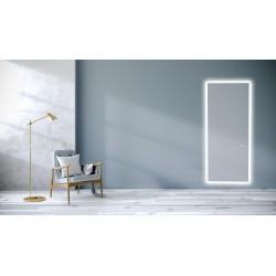 Aflangt LED-spejl V.2 med...