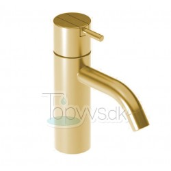 Håndvaskarmatur fra Vola HV1+30 - 19 i natur messing