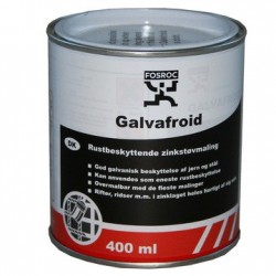 Fantastisk! Fantastisk mad Køb Fosroc Galvafroid zinkstøvmaling, 400 ml - Vare nr: 881892912 XH06