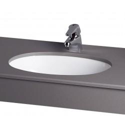 Villeroy & Boch Evana underlimningsvask, 50x35 cm m/overløb