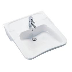 Ifø håndvask 2512 hvid 600x580 mm