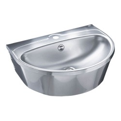 Ifø Public Steel håndvask, rustfrit, 56x43,5cm