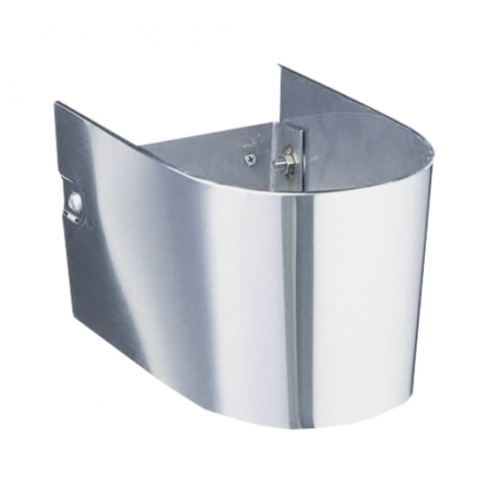 Ifø Public Steel halvsøjle håndvask, rustfri