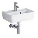 Ifø Renova nr. 1 plan håndvask hvid 45x32cm
