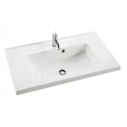 Dansani Vask Allegro 80 cm marmor hvid