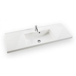 Dansani Vask Allegro 120 cm marmor hvid