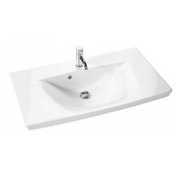 Dansani Vask Andante 84,4 cm porcelæn hvid