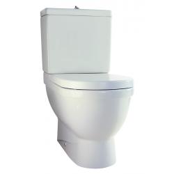 Duravit Starck 3 toilet back-to-wall, Uden cisterne og sæde