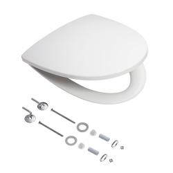 Ifö Sign hvidt sæde med quick release og fast beslag