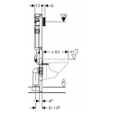 Geberit Duofix frontbetjent, 112 cm
