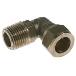 Vinkel 1/2 - 10 MM M/np. Forkromet