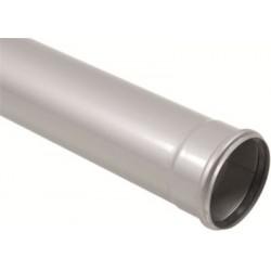 Afløbsrør 1 muffe, 110-150mm